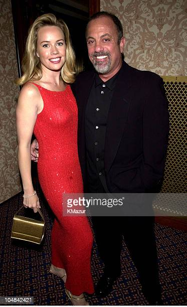 Trish Bergin Billy Joel during The Songwriters Hall of Fame 32nd Annual Awards Induction at The Sheraton Hotel in New York City New York United States