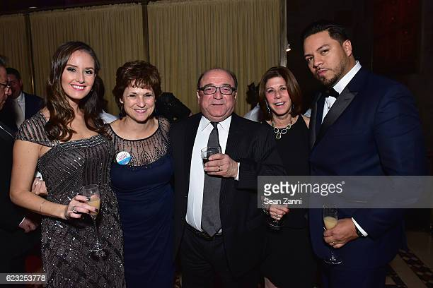 Trish Rauccio Karen Zigma Rich Juliana Patti Banner and Angel Betancourt attend the Silver Hill Hospital 2016 Giving Hope Gala at Cipriani 42nd...