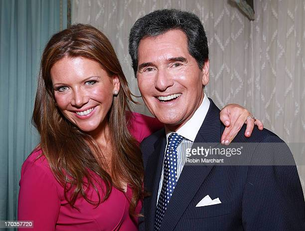 Trish Regan and Ernie Anastos attend Salute To The Southampton Animal Shelter at Private Residence on June 11 2013 in New York City