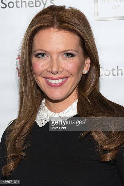 Trish Regan attends the 2014 Take Home A Nude Event at Sotheby's on October 9 2014 in New York City