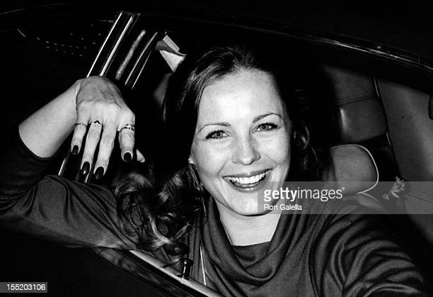 Trish Stewart attends CBS TV Affiliates Dinner on May 25 1977 at the Century Plaza Hotel in Century City California