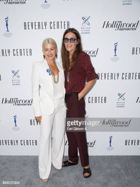Trish Summerville and Laurie Glazier attend the Beverly Center And The Hollywood Reporter Present Candidly Costumes at The Beverly Center on August...