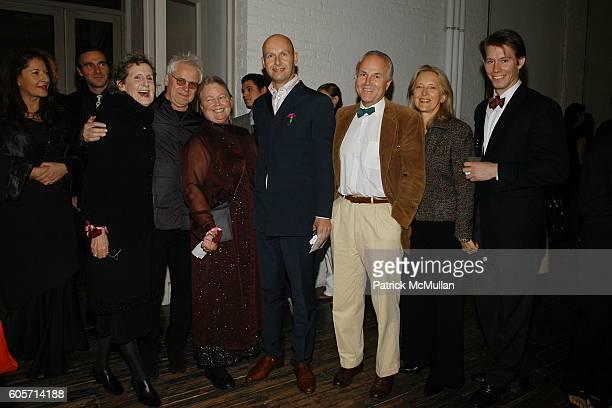 Trisha Brown Burt Barr Alanna Heiss Lex Fenwick Michel Zaleski Caroline Zaleski and Rufus Lusk attend PS1 MOMA 30th Anniversary Homecoming GALA at...