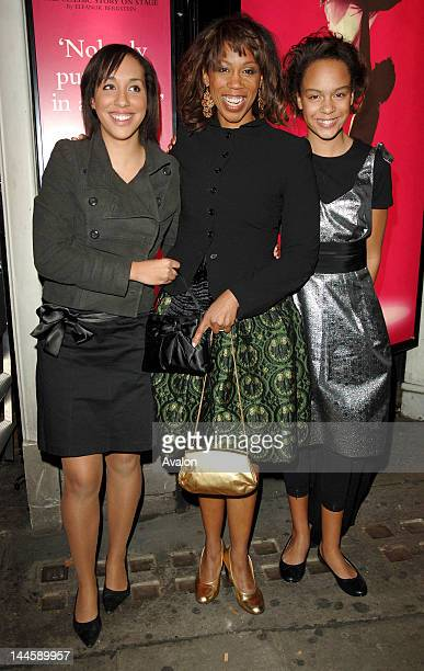 Trisha Goddard and her daughters attending Dirty Dancing: The Classic Story On Stage - Premiere, Aldwych Theatre, London. October 24, 2006; - Job :...