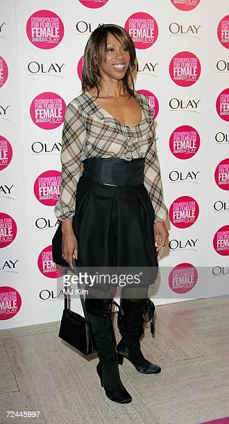 Trisha Goddard arrives at the Cosmopolitan Fun Fearless Female Awards with Olay held at the Bloomsbury Ballroom November 7 2006 in London England