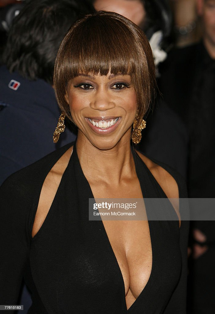 Trisha Goddard arrives for the National Television Awards at the Royal Albert Hall on 31 October 2007 in London England.