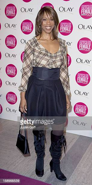 Trisha Goddard Attends The Cosmopolitan Fun Fearless Female Awards With Olay At London'S Bloomsbury Ballroom