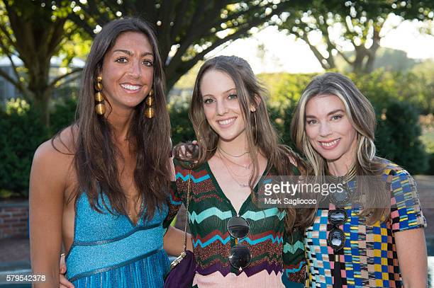 Trisha Gregory Eleanor Lambert and Alexandra Lind Rose attend Armarium's Missoni Launch With Ottavio Missoni at the home of Marigay McKee and Bill...