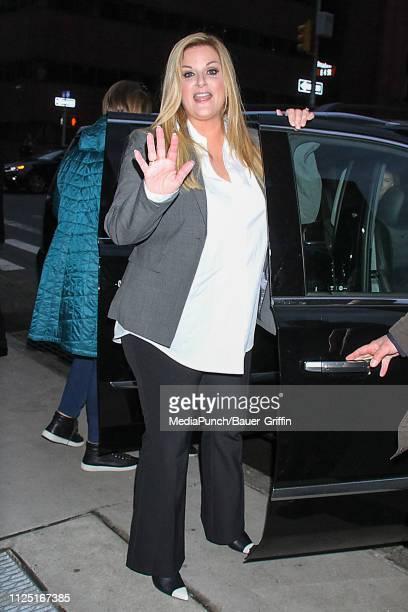 Trisha Yearwood is seen on February 15 2019 in New York City