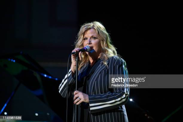 Trisha Yearwood performs at the 2019 Grammy Block Party at War Memorial Auditorium on April 29 2019 in Nashville Tennessee