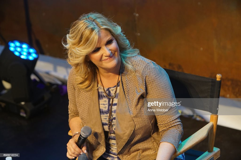 Trisha Yearwood speaks onstage at the HGTV Lodge during CMA Music Fest on June 8, 2017 in Nashville, Tennessee.