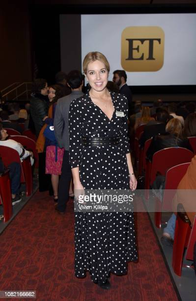 Trista Milanovich attends the Closing Night Screening of 'Ladies In Black' at the 30th Annual Palm Springs International Film Festival on January 13...