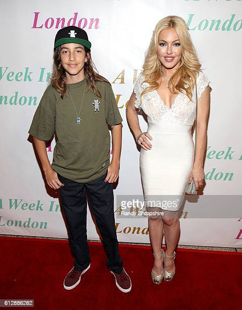 Tristan Alexander and Julia Faye West arrive to A Week In London screening at ArcLight Cinemas Cinerama Dome on October 3 2016 in Hollywood California
