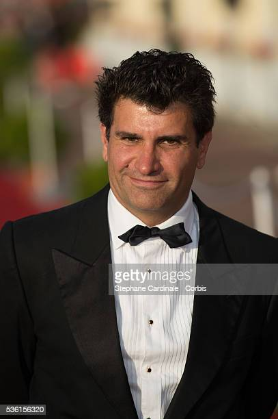 Tristan Duval Mayor of Cabourg attends the closing Ceremony of the 29th Cabourg Romantic Film Festival on June 13 2015 in Cabourg France