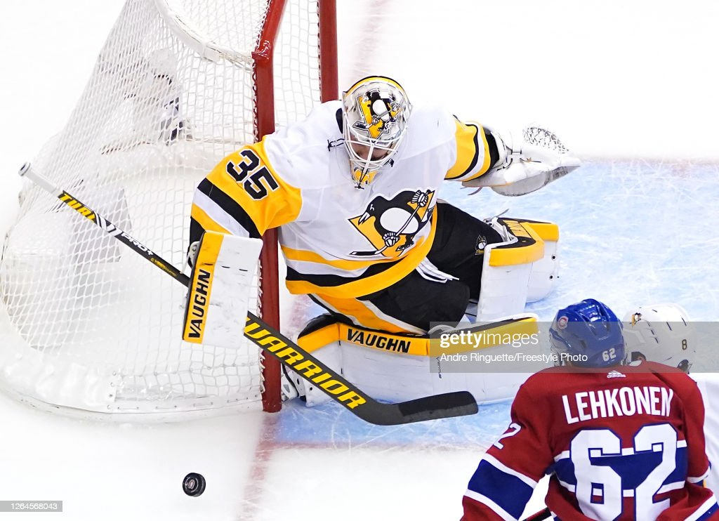 Pittsburgh Penguins v Montreal Canadiens : News Photo