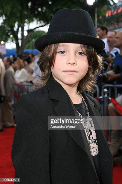 Tristan Lake Leabu during 'Monster House' Los Angeles Premiere Red Carpet at Mann Village in Westwood California United States