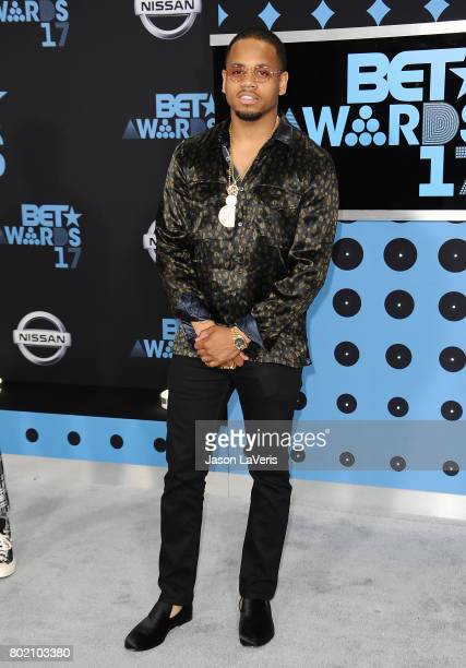 Tristan Mack Wilds attends the 2017 BET Awards at Microsoft Theater on June 25 2017 in Los Angeles California