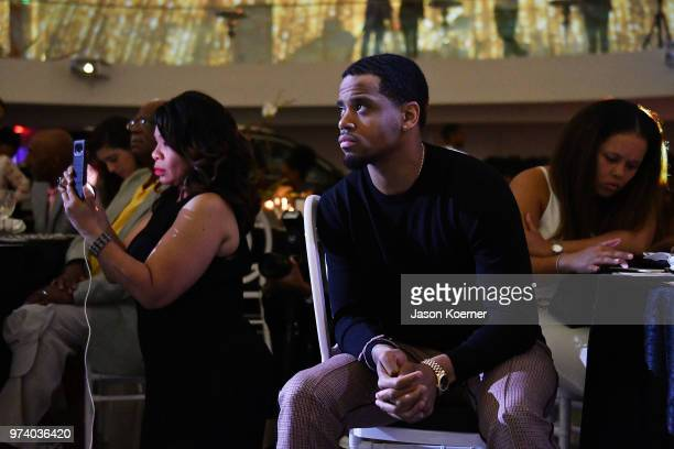 Tristan 'Mack' Wilds attends the Cadillac Welcome Luncheon At ABFF Black Hollywood Now at The Temple House on June 13 2018 in Miami Beach Florida