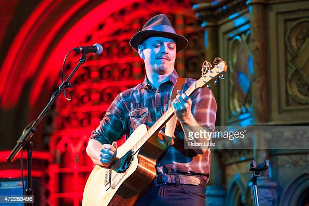 Tristan Mackay performs at the Union Chapel on May 5, 2015 in London, United Kingdom