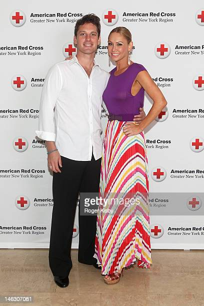 Tristan MacManus and Kym Johnson attend the 2012 New York Red Cross Ball at The Plaza Hotel on June 13 2012 in New York City