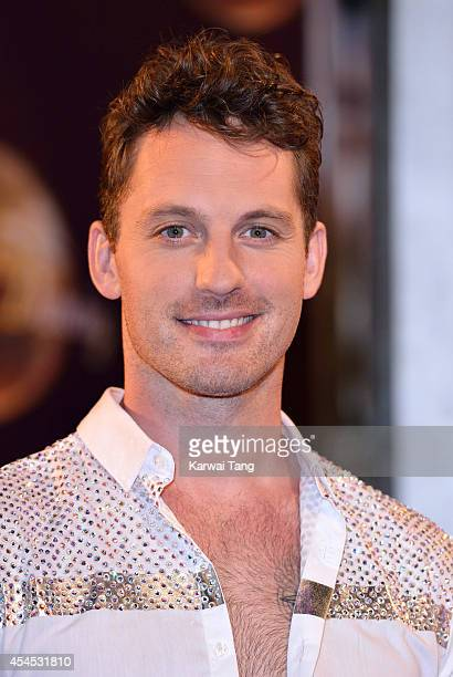 Tristan MacManus attends the red carpet launch for Strictly Come Dancing 2014 at Elstree Studios on September 2 2014 in Borehamwood England