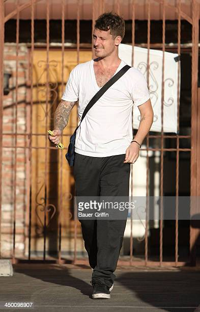 Tristan MacManus is seen at Dancing With the Stars studio on September 27 2013 in Los Angeles California