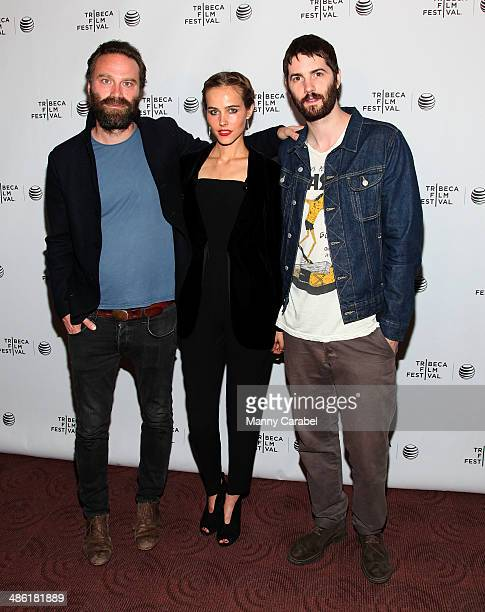 Tristan Patterson Isabel Lucas and Jim Sturgess attend the screening of Electric Slide during the 2014 Tribeca Film Festival at Chelsea Bow Tie...