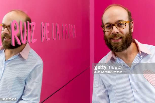 Tristan Ramirez attends Alejandro Dron's Exhibition at Agatha Ruiz de la Prada store on May 24 2018 in Madrid Spain