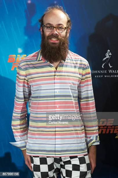 Tristan Ramirez attends 'Blade Runner 2049' premiere at the Callao cinema on October 5 2017 in Madrid Spain
