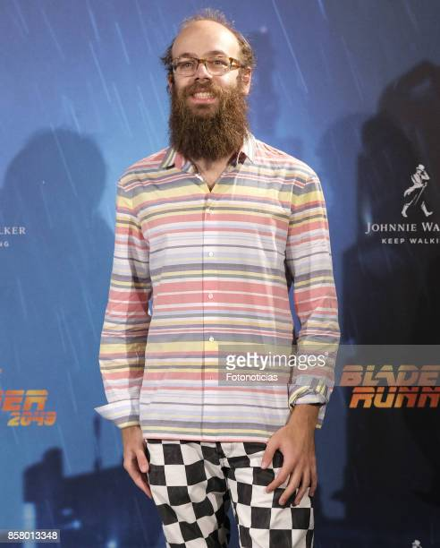 Tristan Ramirez attends the 'Blade Runner 2049' premiere at the Callao City Lights cinema on October 5 2017 in Madrid Spain