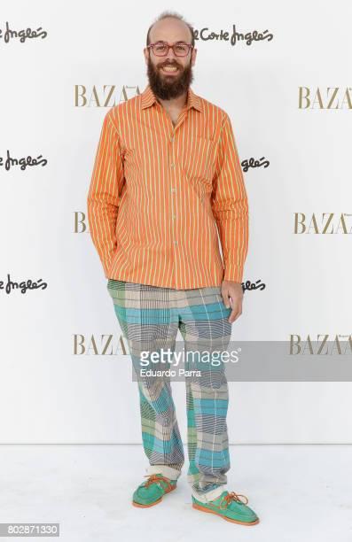 Tristan Ramirez attends the 'Harper's Bazaar summer party' photocall at Casa de Velazquez on June 28 2017 in Madrid Spain