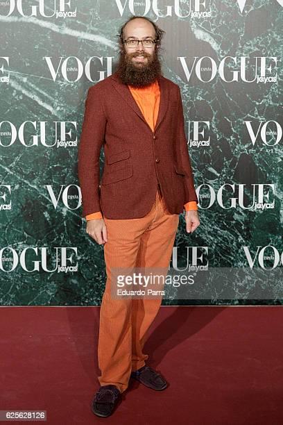 Tristan Ramirez Ruiz de la Prada attends the 'Vogue Joyas awards' photocall at Duques de Santona palace on November 24 2016 in Madrid Spain