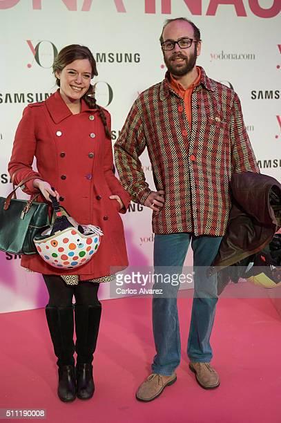 Tristan Ramirez Ruiz de la Prada attends the Yo Dona Party MercedesBenz Madrid Fashion Week Autumn/Winter 2016/2017 at the NH Eurobuilding Hotel on...