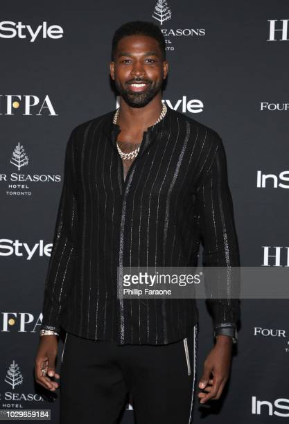 Tristan Thompson attends The Hollywood Foreign Press Association and InStyle Party during 2018 Toronto International Film Festival at Four Seasons...
