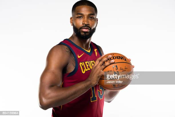 Tristan Thompson of the Cleveland Cavaliers at Cleveland Clinic Courts on September 25, 2017 in Independence, Ohio. NOTE TO USER: User expressly...