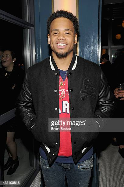 Tristan Wildes attends the GQ Fashion Week Party At The Wythe Hotel on September 9 2014 in Brooklyn New York