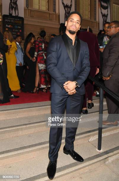 Tristan Wilds attends the 49th NAACP Image Awards at Pasadena Civic Auditorium on January 15 2018 in Pasadena California