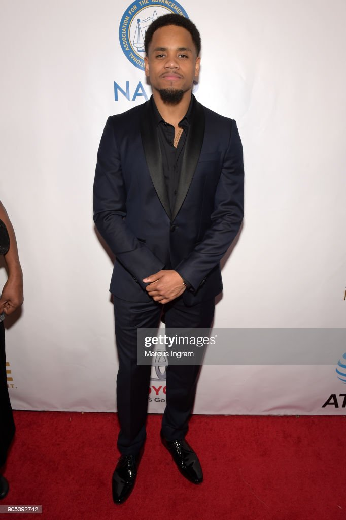 Tristan Wilds attends the 49th NAACP Image Awards at Pasadena Civic Auditorium on January 15, 2018 in Pasadena, California.