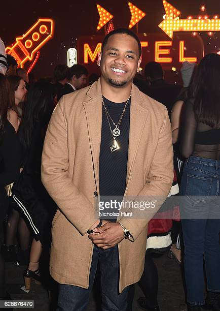 Tristan Wilds attends the Coach 75th Anniversary Party on December 8 2016 in New York City