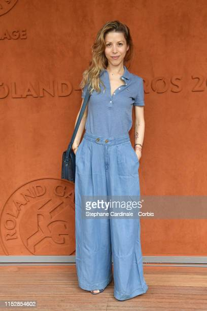 Tristane Banon attends the 2019 French Tennis Open Day Six at Roland Garros on May 31 2019 in Paris France