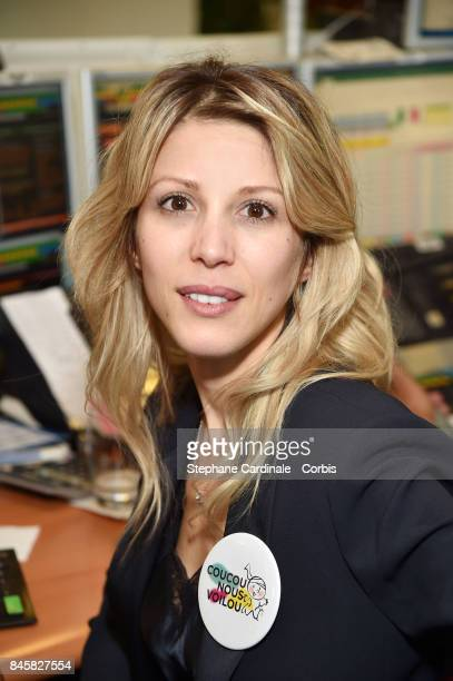 Tristane Banon attends the Aurel BGC Charity Benefit Day 2017 on September 11 2017 in Paris France