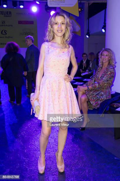 Tristane Banon attends the Christophe Guillarme show as part of the Paris Fashion Week Womenswear Spring/Summer 2018 on September 27 2017 in Paris...