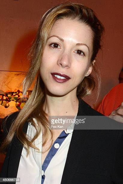 Tristane Banon attends the 'Prix Du Style 2013' Literary Award At Palais de Tokyo on November 19 2013 in Paris France