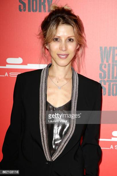 Tristane Banon attends 'West Side Story' at La Seine Musicale on October 16 2017 in BoulogneBillancourt France