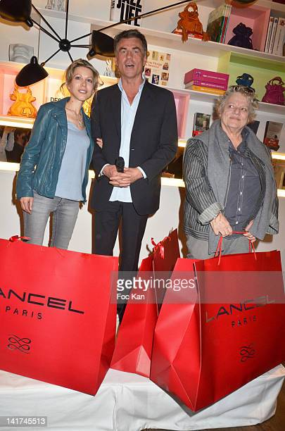 Tristane Banon Bruno Gaccio and Josee Dayan attend the 'Prix Bel Ami 2012' Women Literary Awards at Hotel Bel Ami on March 22 2012 in Paris France