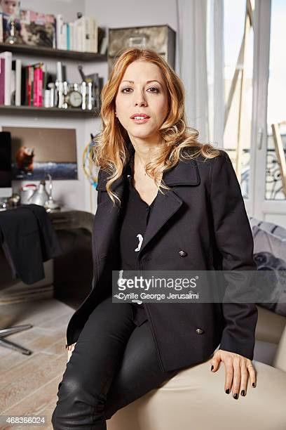 Tristane Banon is photographed for Gala on March 5 2015 in Paris France