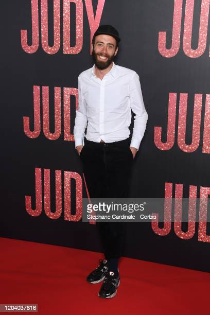 Tristian Lopin attends the Judy premiere At Cinema Gaumont Marignan on February 04 2020 in Paris France