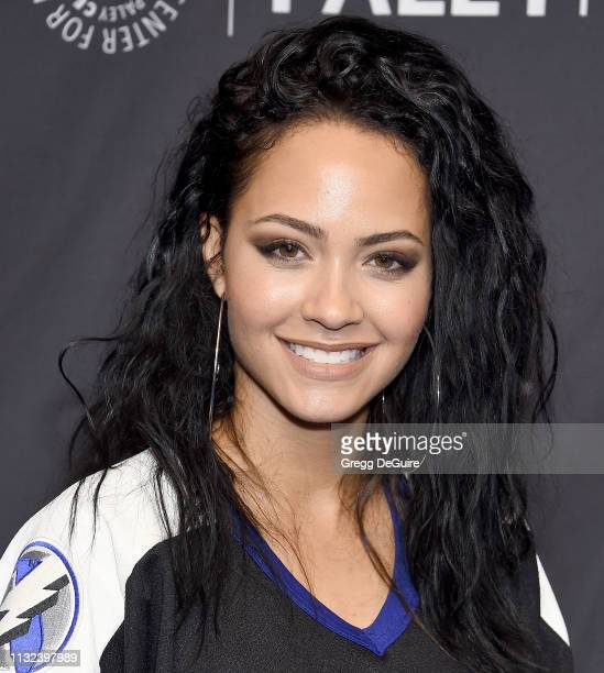 Tristin Mays attends The Paley Center For Media's 2019 PaleyFest LA Hawaii Five0 MacGyver And Magnum PI at Dolby Theatre on March 23 2019 in...
