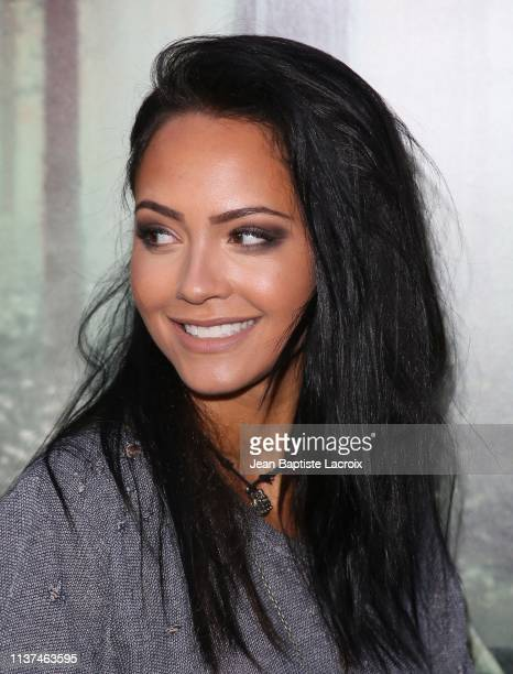Tristin Mays attends the premiere of Warner Bros' 'The Curse Of La Llorona' at the Egyptian Theatre on April 15 2019 in Hollywood California