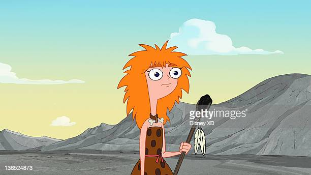 FERB 'TriStone Area' It's the Stone Age and Phineas and Ferb are cavemen who decide to invent something new fun and usefulthe wheel Meanwhile Dr...